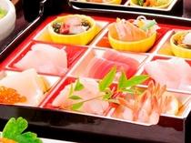 【2015冬】料理長おすすめコースの一品「海の幸の玉手箱」