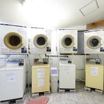 *【コインランドリー】中長期滞在でもご安心下さい。売店で洗剤も用意しております。