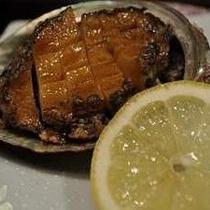 アワビ料理 一例