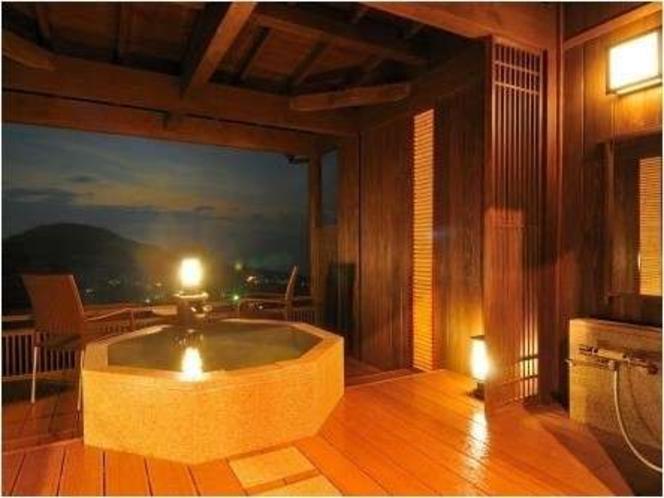 露天風呂付離れ特別室『夢の杜』