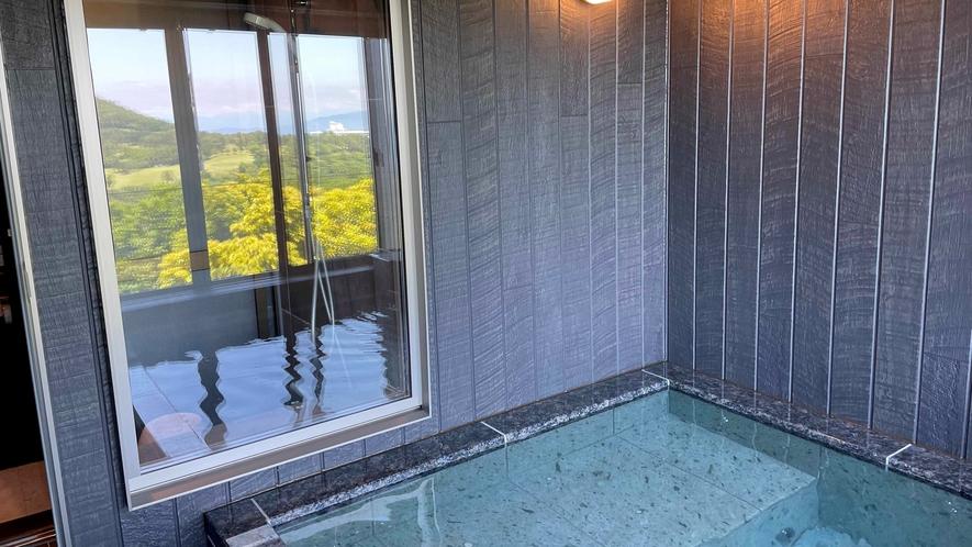 音の蔵 客室半露天風呂
