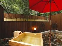 メゾネット室露天風呂