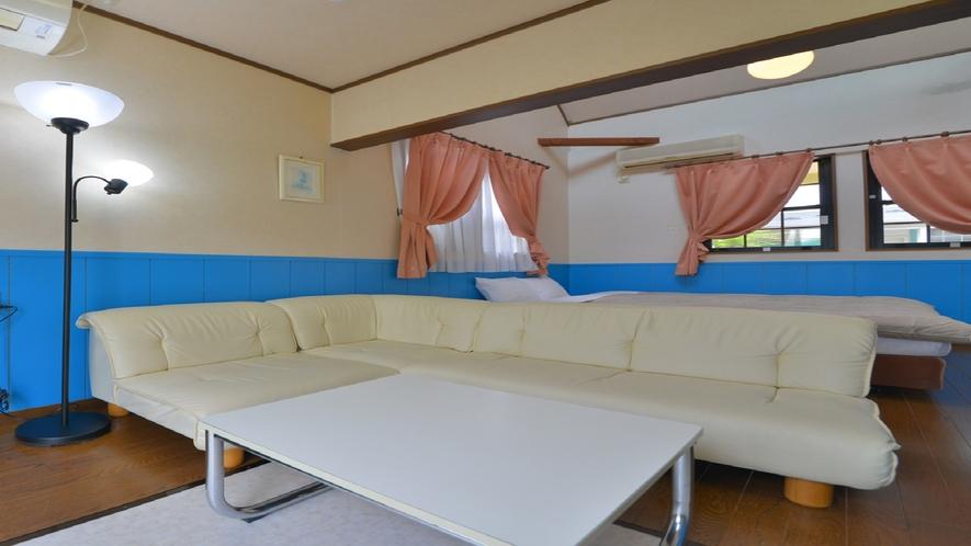庭園露天風呂付メゾネット室 一例