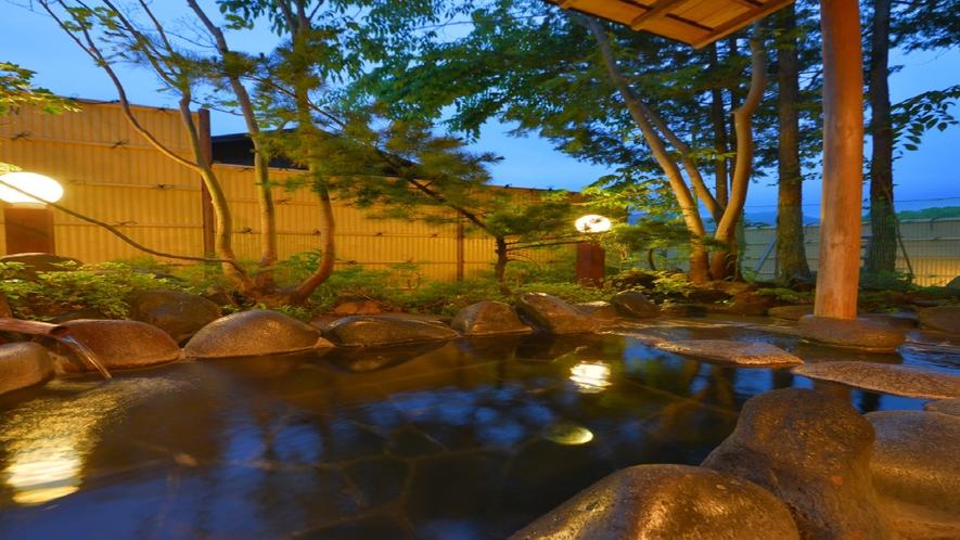 カジュアルユーロ敷地内 ほの香 露天風呂