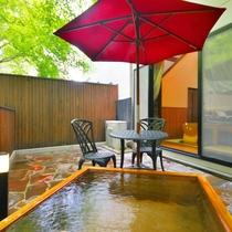 メゾネット室 露天風呂