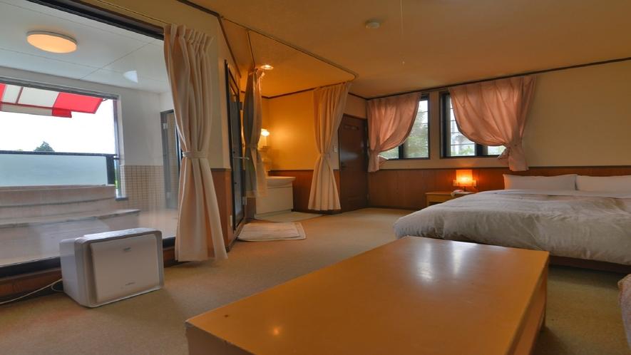 テラス露天風呂付客室 一例