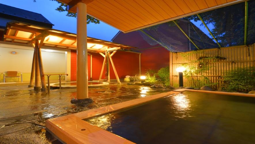 ユーロシティ敷地内 露天風呂コーナー 一例
