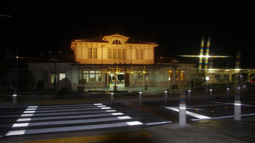 JR日光駅 夜