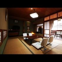 【10畳】広めの客室は広縁付、お部屋にはウォシュレットトイレ付