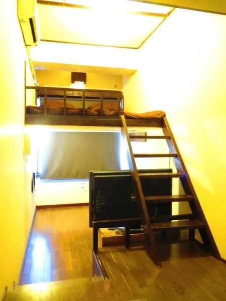 個室 ツインルーム11号室 広々したロフトタイプ