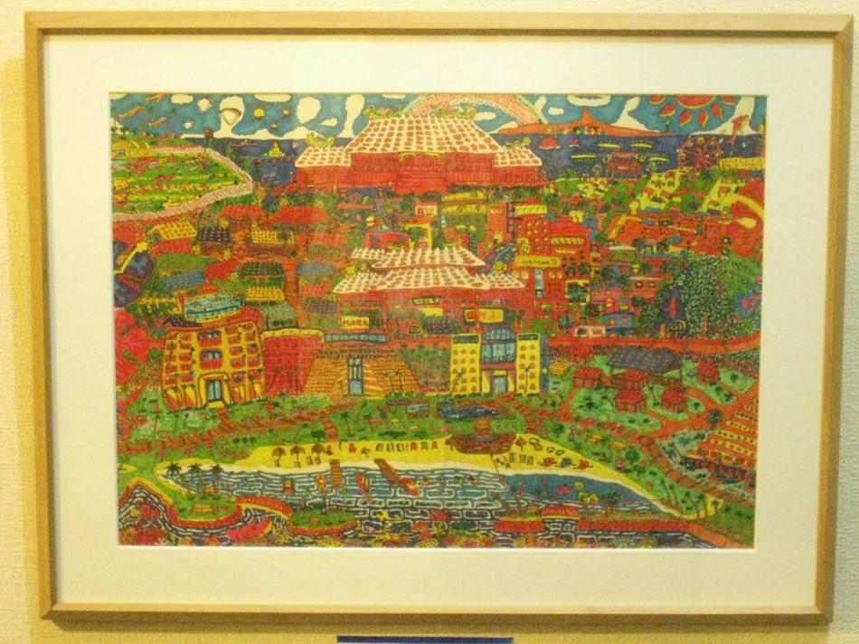 美術館 沖縄モチーフ