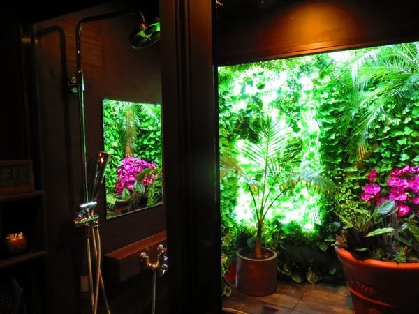 庭付き女性シャワールーム