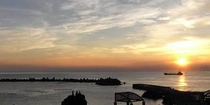 底土海岸 朝日