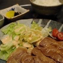 選べる定食付プラン(豚の生姜焼き定食)