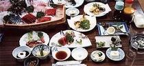 海鮮料理 (舟盛りは特別注文となります。)
