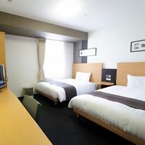 ◆ツインエコノミー◆ベッド幅123センチ◆広さ19平米◆