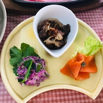 米沢牛堪能フルコース(前菜)