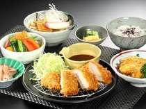 夕食付プランメニュー例(名古屋御膳)