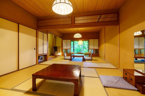 ◆【別館:湯山亭】和室6畳+8畳◆