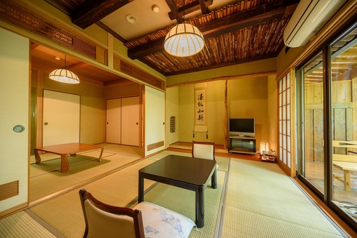 ◆【別館:湯山亭】和室6畳+6畳◆