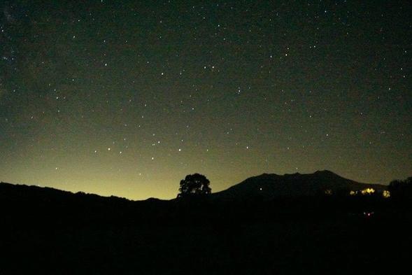 【御岳山と満天の星空リゾート】大自然の豊かな恵みを温泉と旬の味覚で味わう一泊二食