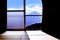 部屋からの富士山