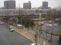 6Fから新下関駅・・・