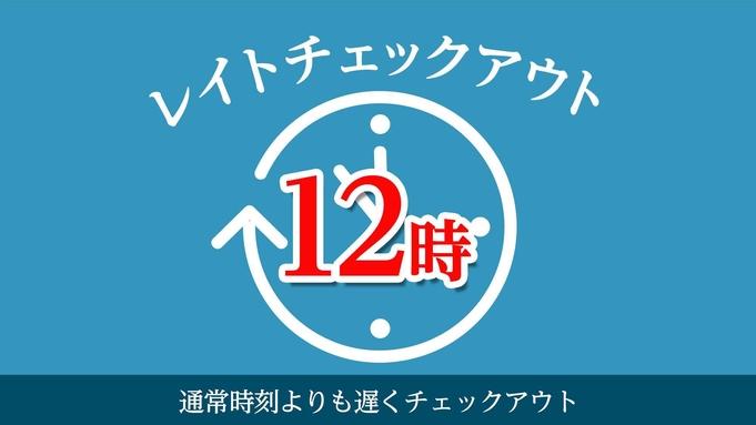 【高橋英樹&真麻一押し♪】12時アウトのんびりプラン〜素泊り〜大浴場(男性専用)完備♪