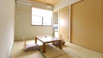 客室一例/和室6畳。一人旅やビジネスに