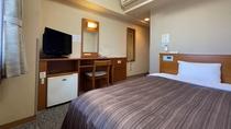 シングルルーム(ベッド幅195×140)