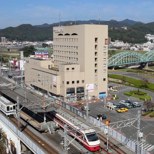 ◆外観 駅あり