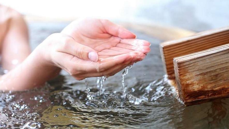当館の泉質は、鉄分と塩分を多く含み、疲労回復・血行促進などの効能があります。