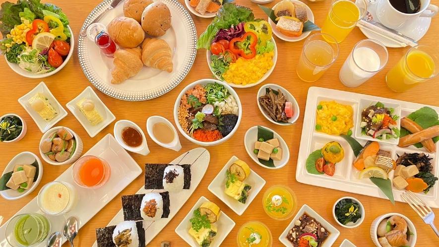 朝食バイキング ※イメージ