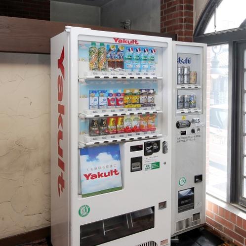 1F 自動販売機