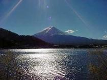 〇お部屋からの富士山