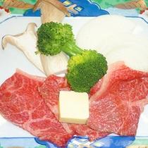 *<お料理一例>霜降り米沢牛石焼き