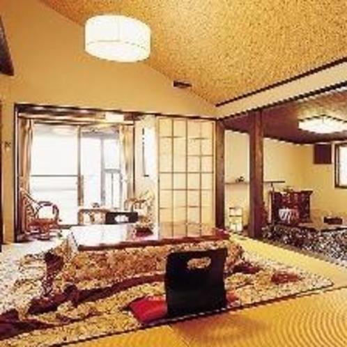 露天付き客室  一例 白