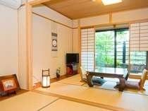 露天風呂付き客室 一例 初・若