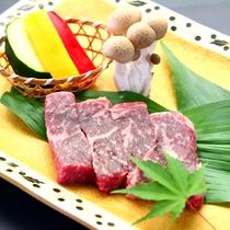 焼物_あか牛ステーキ単品_別途ご希望のお客様はご予約時にお申し付けください