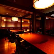 ダイニング『里想庵』テーブル席