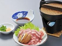 【夕食】沼田産レタスを使った豚しゃぶ
