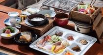 *冬のごちそうプラン朝食一例
