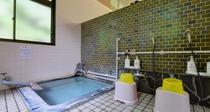 *小浴場/泉質は刺激が少ないナトリウム塩化物泉です。