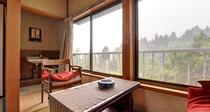 *和室6畳(客室一例)/本館・新館と山側・川側の眺望は宿のおまかせです。