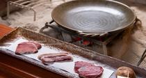 *通常2種のジビエ肉が3種類食べ比べ!(その日の入荷状況によります。)
