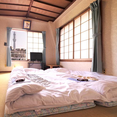 *【和室6畳】一部の客室からはスカイツリーが見えます!※指定不可。12畳タイプはスカイツリー側です
