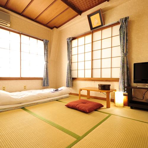 *【和室6畳】居心地の良い落ち着いた空間です。ビジネスのお客様にもオススメです