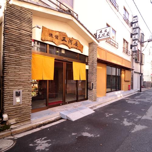 *浅草寺、仲見世に隣接した、和風旅館。観光・ビジネスの拠点に最適!