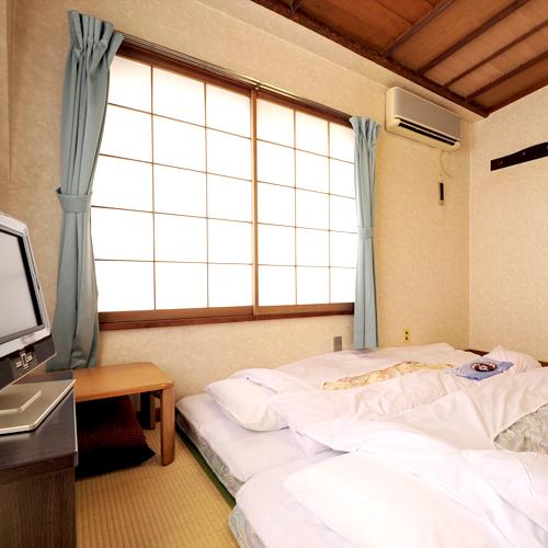 *【和室6畳】落ち着いた和情緒を感じながら、気楽にお過ごしください。