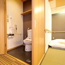 *【和室12畳】車椅子も入れる広々とした空間です。※一部のみ。要事前相談